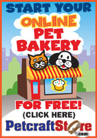 start online dog bakery