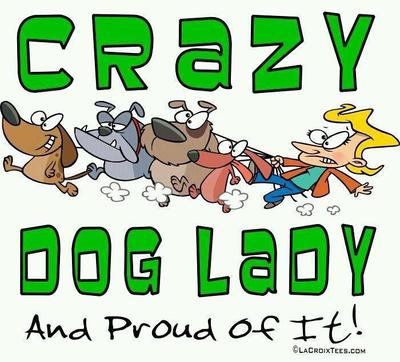 Crazy dog ladies rock!