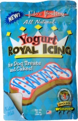 yogurt royal icing for dogs