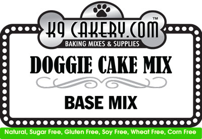 gluten-free dog cake recipe mix
