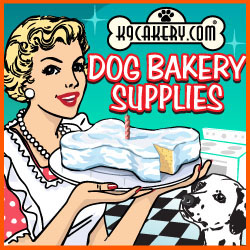 Yogurt Icing and Dog Bakery Supplies