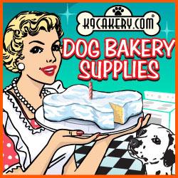Yogurt Icing and Dog Bakery Supplies