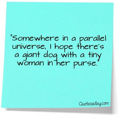 Large dog quote