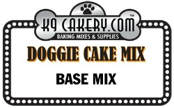 natural dog cake mix