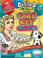 cake kit for dogs from K9Cakery.com