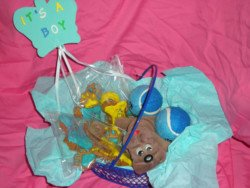 diy puppy gift basket