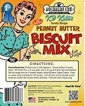 natural peanut butter dog biscuit mix
