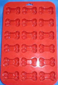 silicone dog bone cake pan