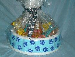 Dog Treat Gift Basket