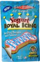 yogurt royal icing for dogs