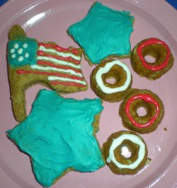 fourth of july cookies for dogs