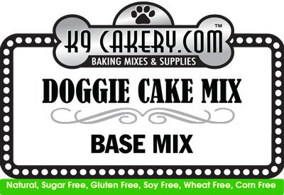 gluten-free dog cake recipe mix